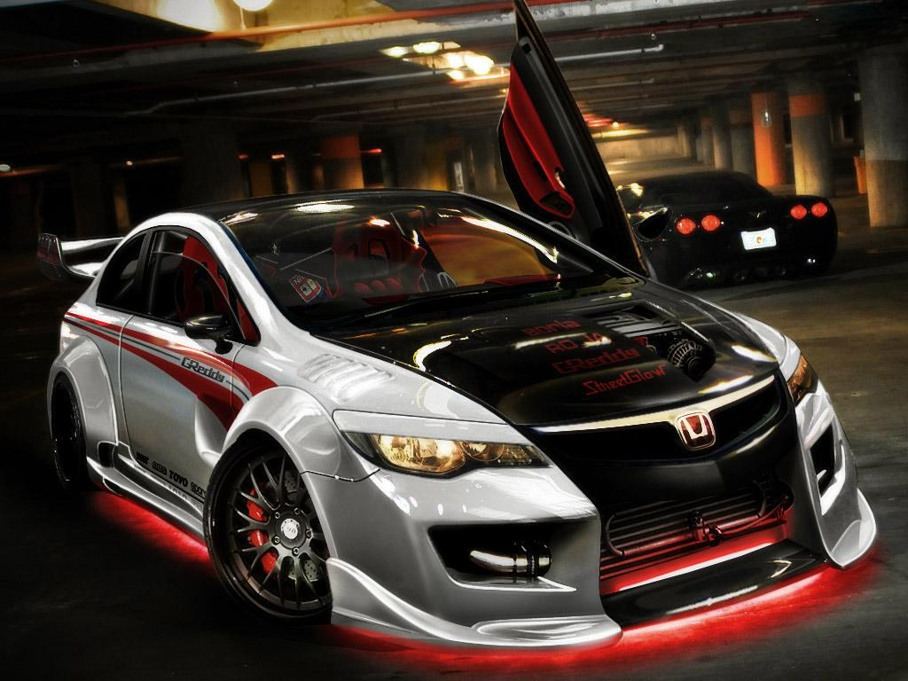 Спортивный характер Honda Civic
